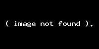 Təhsil şöbəsinin avtomobili yandı (FOTO)