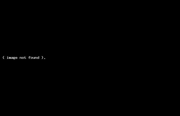 Albert Aqarunovun heykəlinin açılışı oldu (FOTOLAR)